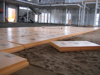 Утеплитель для пола по бетону пенополистирол