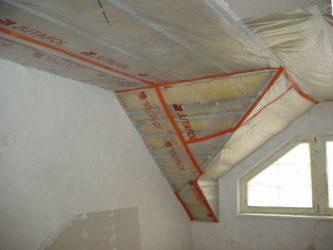 Какая пароизоляция лучше для потолка?