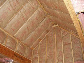 Чем лучше утеплить крышу бани?