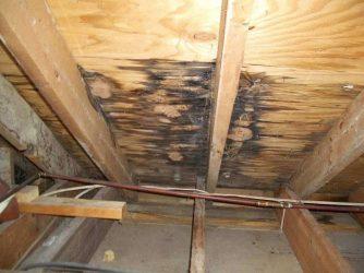 Конденсат под крышей из металлочерепицы