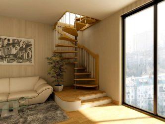 Виды лестниц на мансарду